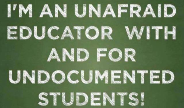 unafraid educator